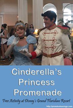 Disney World Resort Hopping Activity: Cinderella's Princess Promenade at the…