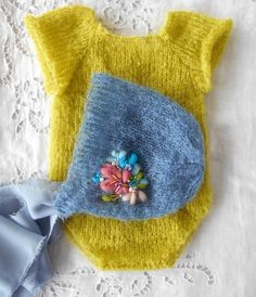 Set for newborn baby  baby props by pavlucha on Etsy