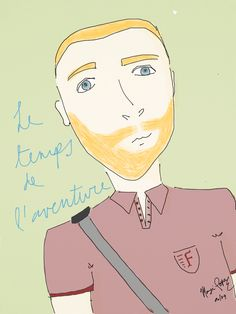 Le temps de l'aventure.- Fernando, 06/09 // instagram: mochroi.design