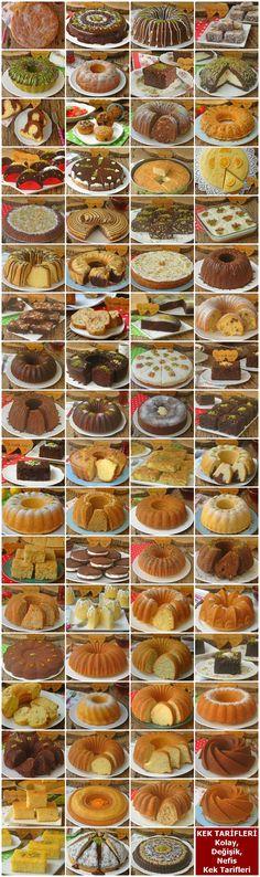 Cake Recipes: Easy Different Exquisite Cake Recipes (Illustrated and Kek Tarifleri : Kolay Değişik Nefis Kek Tarifleri (Resimli ve Püf Noktaları … Cake Recipes: Easy Different Yummy Cake Recipes (With Illustrations and Tricks) - Delicious Cake Recipes, Easy Cake Recipes, Yummy Cakes, Dessert Recipes, Yummy Food, Yummy Yummy, Cake Recipes With Pictures, Food Pictures, Nutella