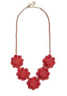 ModCloth | Marvelous, Dahlia Necklace #modcloth #necklace