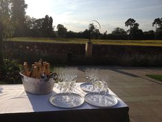 Executive channel dinner at Coworth Park