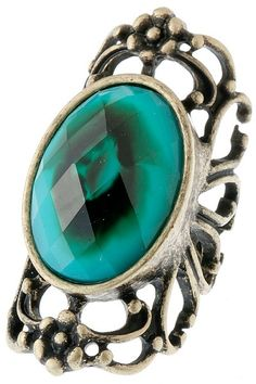 Jewel Edwardian Ring from Ava Adorn