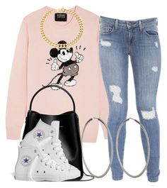 """""""."""" by trillest-queen ❤ liked on Polyvore featuring Markus Lupfer, Genetic Denim, Sidney Garber, 3.1 Phillip Lim, Converse and Alessandra Rich"""