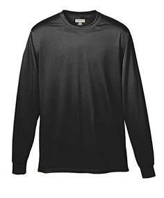 541206aceeb Augusta Sportswear MENS WICKING LONG SLEEVE TSHIRT XL Black   Learn more by  visiting the image