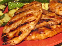 Pinch of Lime: Apple Butter BBQ Sauce (and Pork Chops)    An apple butter BBQ sauce makes the perfect accompaniment for grilled pork chops.