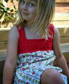 Beautiful Red Dress (Free Crochet Pattern)