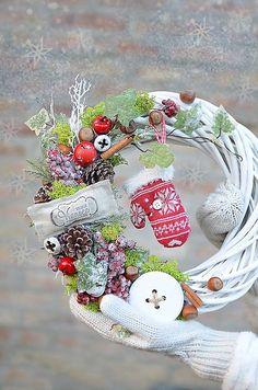 zuzig / Vianočný veniec pre Moniku