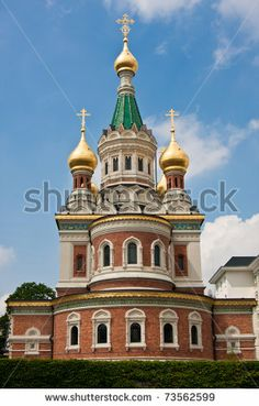 Russian orthodox church in Vienna, Austria by Copit, via Shutterstock