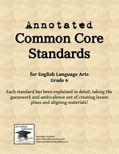 Are you confused or overwhelmed by the Common Core Standards for English Language Arts