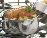 Waterless Stainless Steel Cookware