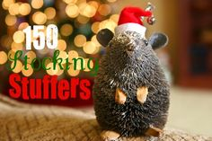 Bakergirl: 150 Stocking Stuffers, and really smart ideas for both genders, adults and kids.