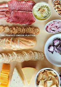 5 Ways to Dominate the Party Cheese Platter by AmbitiousKitchen