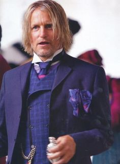 Capitol Couture | Hunger Games fashion | Haymitch