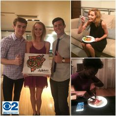 Congratulations to our 2015 #MarioMakeMeAModel Finalists - Paige Palonis, Kaylyn Pryor, Michael Blouin, Kate Giroux and Joshua Pacheco! First up for our models? A CBS Chicago commercial shoot, complete with a #ChicagoDeepDish pizza break from Lou Malnati's! #byMario