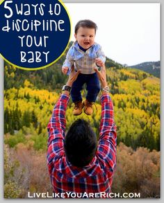 How to comfort/discipline Your baby. Won't be using the cry it out method but liked the other ideas