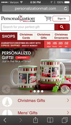 Great Holiday Ideas! personalizationmall.com - #Gifts  #Personalizedgifts Great Personalized Gifts via- http://www.AmericasMall.com/personalizationmall-gifts