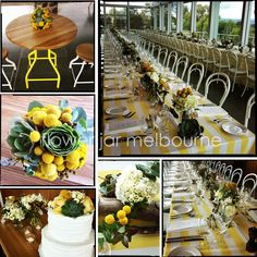 Insperation...Yellow and white  FLOWER JAR: WEDDING GALLERY