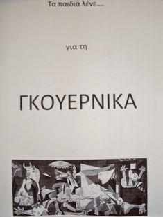 Στα πλαίσια των δραστηριοτήτων για την 28η Οκτωβρίου 1940, τα παιδιά, τα πρωινά, δούλεψαν με την κα Σπυριδούλα το γνωστό έργο του Πικάσο, ... Greek History, Special Education, Cards Against Humanity, Peace, Teaching, School, Blog, War, Facebook