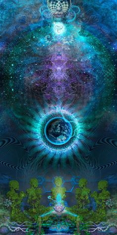 Sacred Geometry Visionary Art