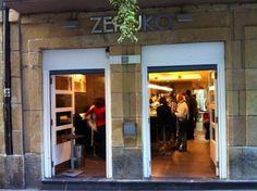 Bar Zeruko in San Sebastián, País Vasco
