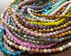 Each and every one of these pretty beads is unique in their color and texture!  You can find these on our website here: