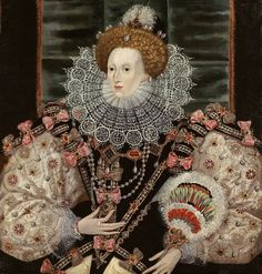 "George Gower ""Portrait of Queen Elizabeth I"" 1600"