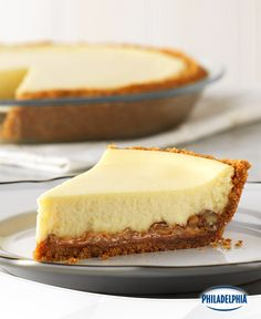 It's not called Easy Caramel-Pecan Cheesecake because it's hard to make. Quite the opposite. With just four simple steps, this is one cheesecake that's sure to become a favourite of those who love caramel, pecans and things that are easy. Just be prepared for people to ask for seconds.