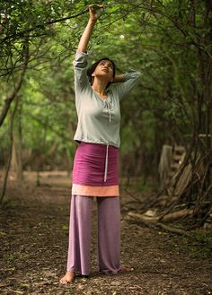 Indian fig fulllength layering pants by ArtefactoApparel on Etsy, $90.00