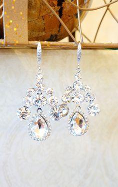 Princess Swarvoski Crystal Earrings  Dangle by VintagePinch #etsy #loveit #ooak #bridal #weddingblogger #blogger #fblogger #fashionblogger #anthropologie #teacherstyle #new #momblogger #momfashion #fashion #fashionfind #trendy #instyle #style #mystyle
