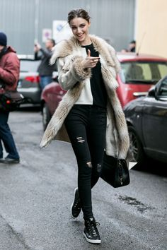 Sporty and fur
