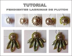 TUTORIAL Pendientes Lagrimas de Pluton by Ankara66, via Flickr