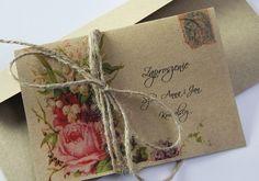 Kolekcja zaproszeń ślubnych Vintage&Nature - decARTe