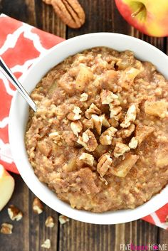 Slow-Cooker Apple Pie Steel Cut Oatmealcountryliving