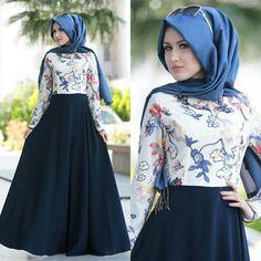 Dresses Muslim Women Fashion, Arab Fashion, Islamic Fashion, Modest Fashion, Trendy Fashion, Fashion Dresses, Hijab Style, Hijab Dress Party, Hijab Collection