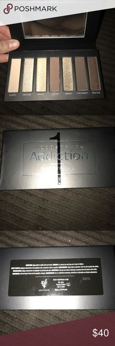 Younique Addiction Palette 1 NWT I just became a younique presenter and this came in my kit! i already have 2 of these so i don't need another (: brand new with tags!!! younique Makeup Eyeshadow