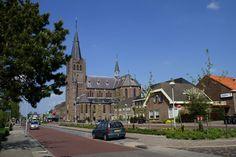 De Rooms Katholieke kerk Sint Jan de Doper (1906) in Noord-Scharwoude