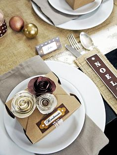 Less is More - Holiday Party Ideas: An Elegant Table With Handmade Details  on HGTV