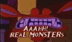 Ahh Real Monsters!  I liked the monster that held his eyes in his hands- I think his name was Crum.