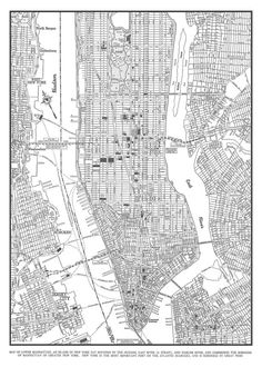 New York City Map Print Afp Cv