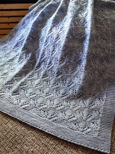 Ravelry: Cradle Me pattern by Anne Hanson Crocheted Afghans, Baby Afghans, Knit Crochet, Baby Knitting Patterns, Knitting Yarn, Anne Hanson, Knitted Baby Blankets, Baby Knits, Knitting Projects