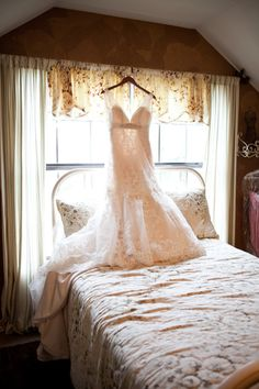 {Allure Bridals} via Style Me Pretty by Nicole Chatman Photography