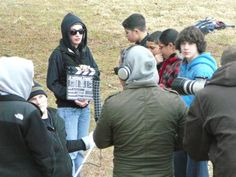 "Shooting the film ""THE LAST ONE"". Watch it at http://vimeo.com/23190122   and let me know what you think."