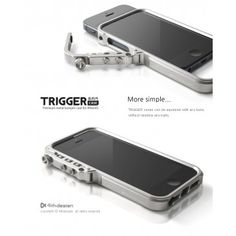 Trigger Metal Bumper Case for iPhone 5 | iCentreindia.com