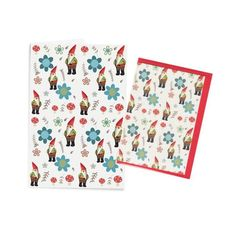 Gnome Greetings Card and Notebook Set by Sally Darby | The Bristol Shop