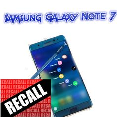 Huge Recall For Samsung Galaxy Note 7 Details and Info - http://couponsdowork.com/recall/huge-recall-for-samsung-galaxy-note-7-details-and-info/