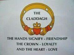 The Claddagh - I Love Being Irish FB