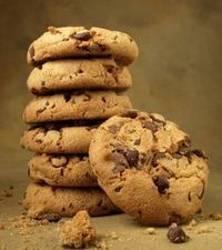 Amazing Cookies with Chocolate Chips! Pastry Recipes, Sweets Recipes, Cookie Recipes, Greek Sweets, Greek Desserts, Cupcakes, Cupcake Cookies, Chocolate Sweets, Chocolate Chip Cookies