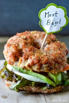 Meat Bagels, you've really got to try these.