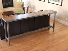 table with pipe legs google search see more 1 diy counter height table ...